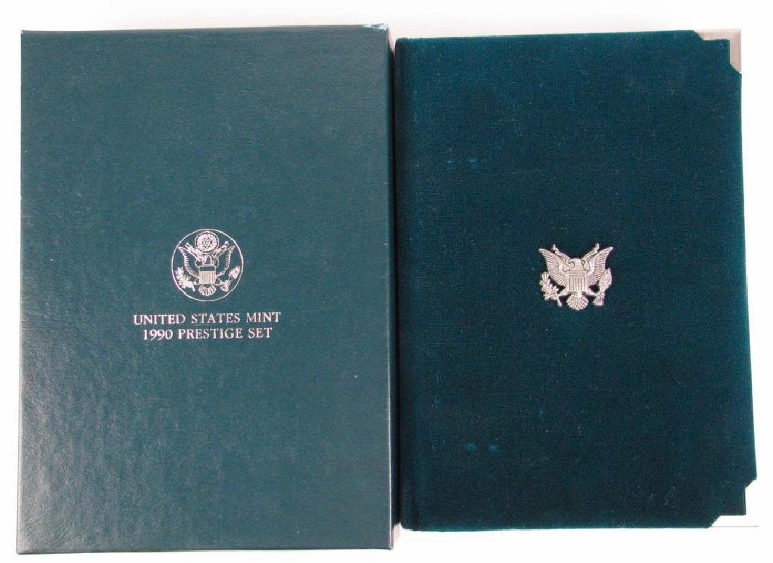U.S. Mint Prestige Proof Set : 1990-P - 2