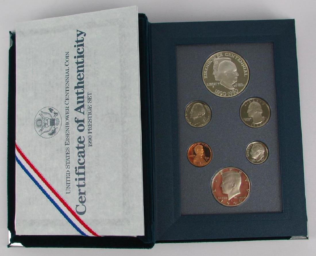 U.S. Mint Prestige Proof Set : 1990-P