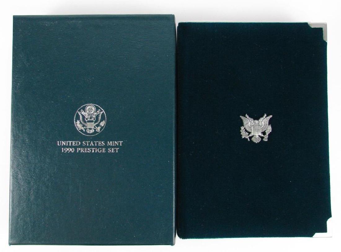 U.S. Mint Prestige Proof Set : 1990-P - 2