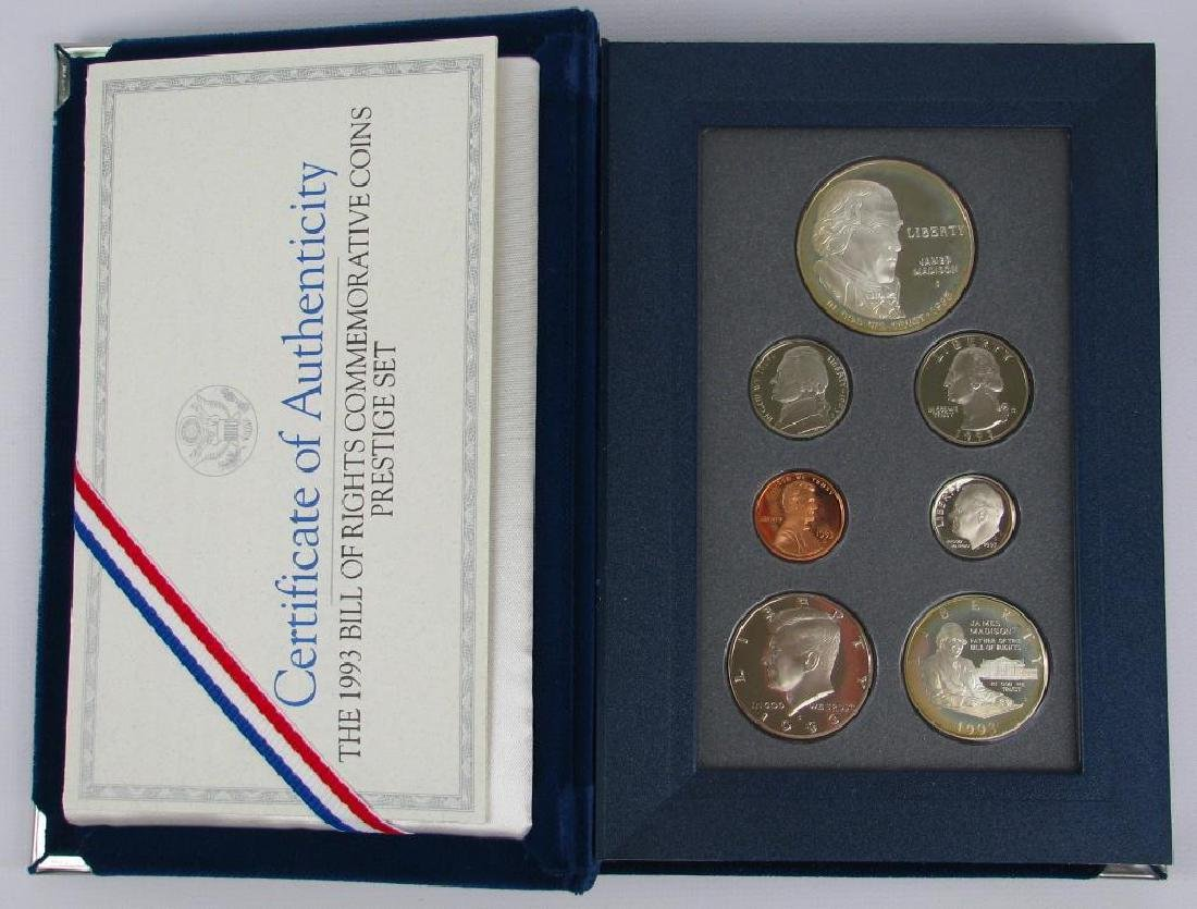 U.S. Mint Prestige Proof Set : 1993-S