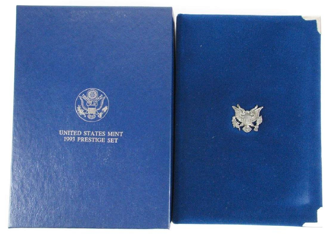 U.S. Mint Prestige Proof Set : 1993-S - 2