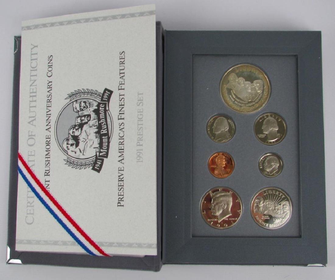 U.S. Mint Prestige Proof Set : 1991-S