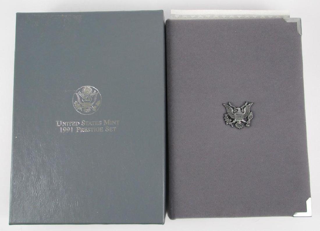 U.S. Mint Prestige Proof Set : 1991-S - 2