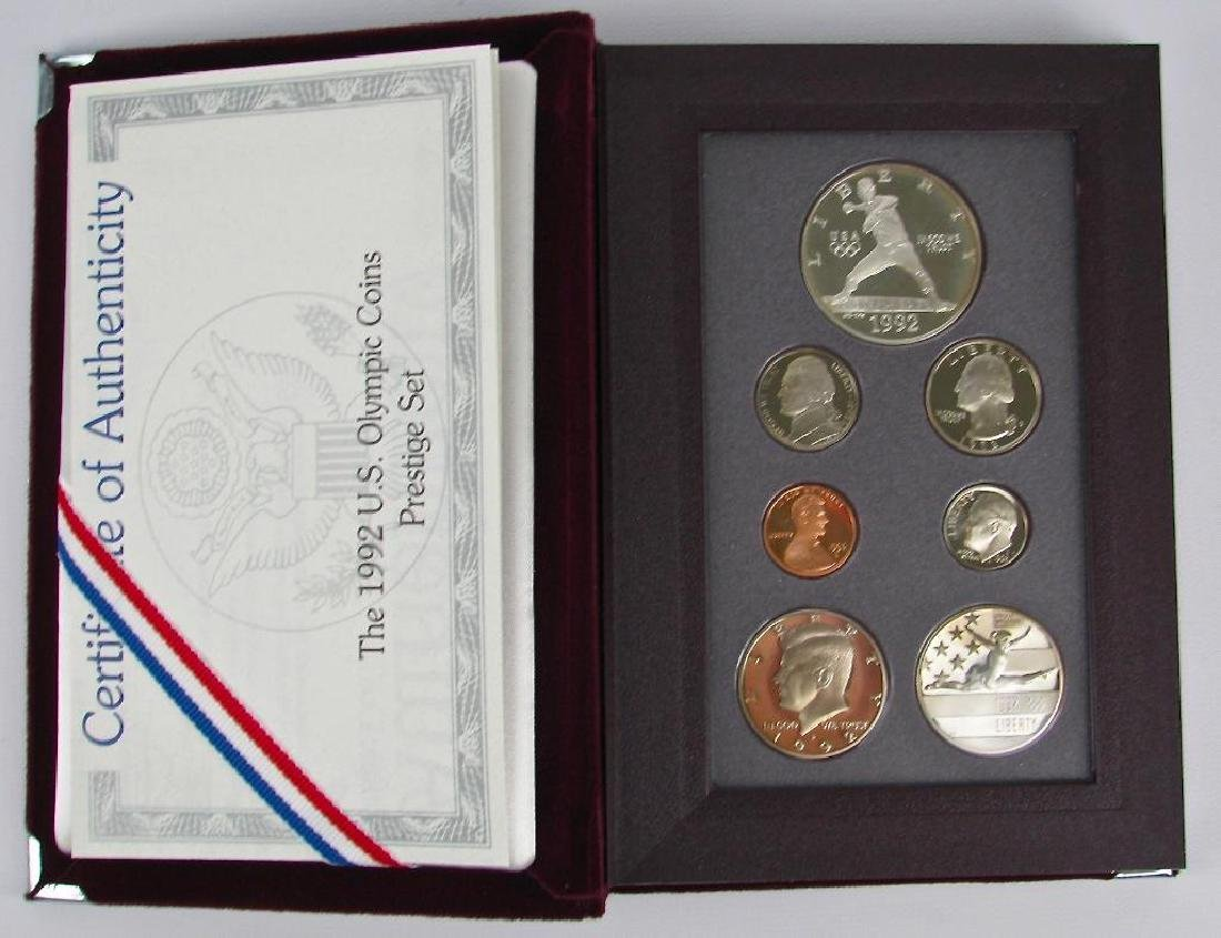 U.S. Mint Olympic Coins Prestige Proof Set : 1992-S