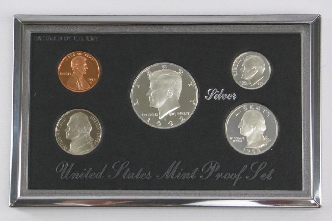U.S. Mint Premier Silver Proof Set : 1992-S