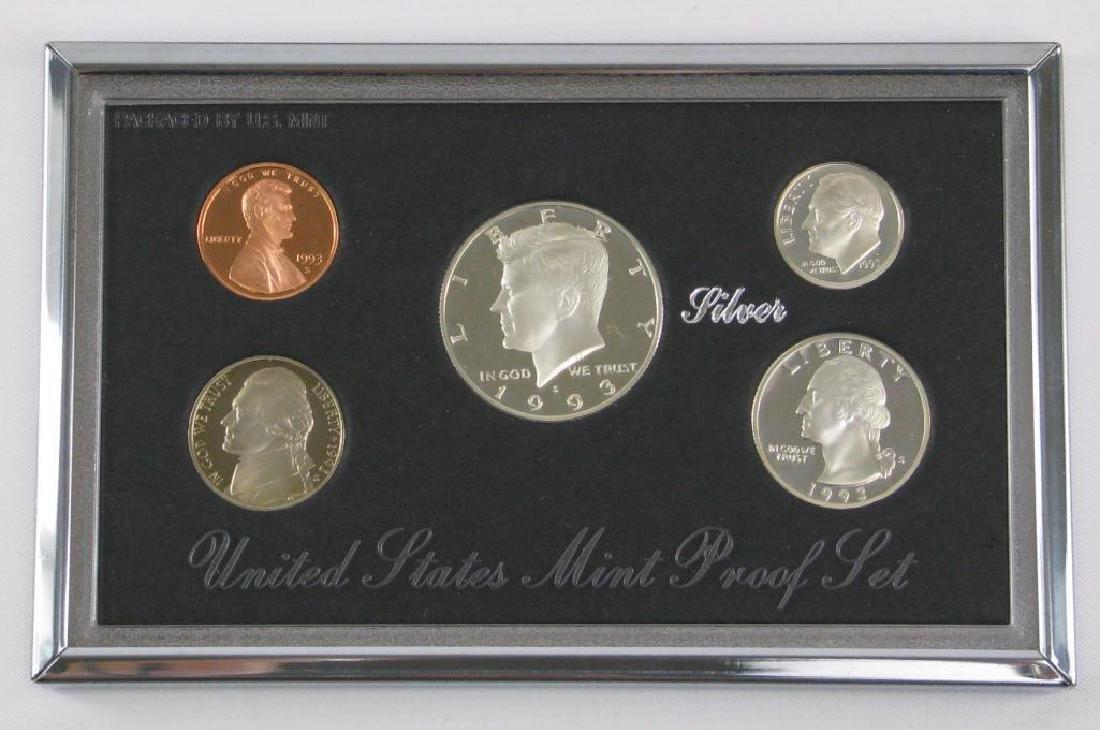 U.S. Mint Premier Silver Proof Set : 1993-S