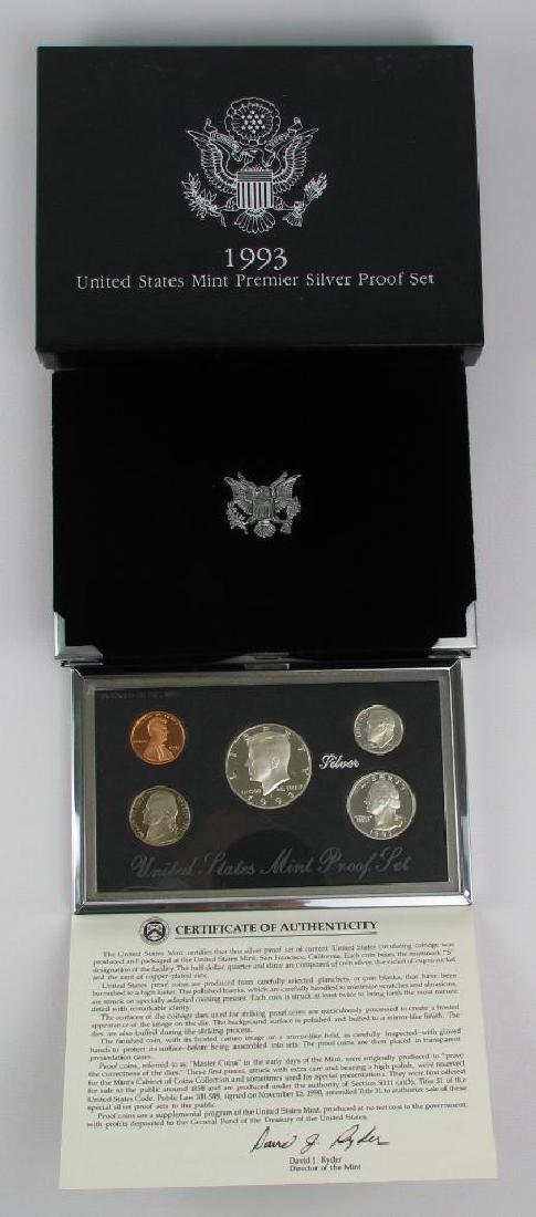 U.S. Mint Premier Silver Proof Set : 1993-S - 2