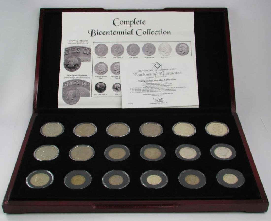 Set of 18 coins : 1976 Complete Bicentennial Collection - 2