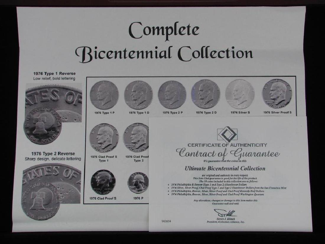 Set of 18 coins : 1976 Complete Bicentennial Collection - 5