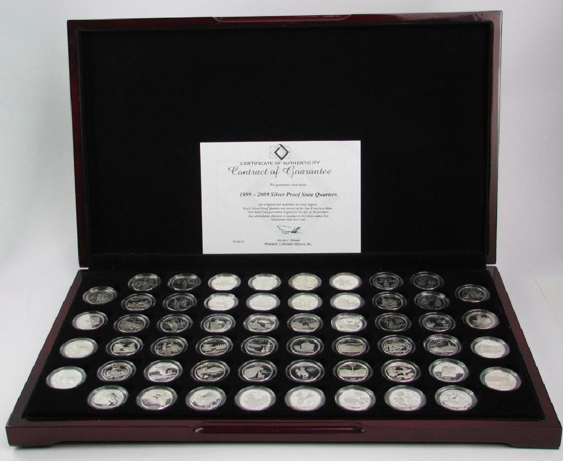 Set of 56 : Silver Proof State Quarters  (1999-2009) - 6
