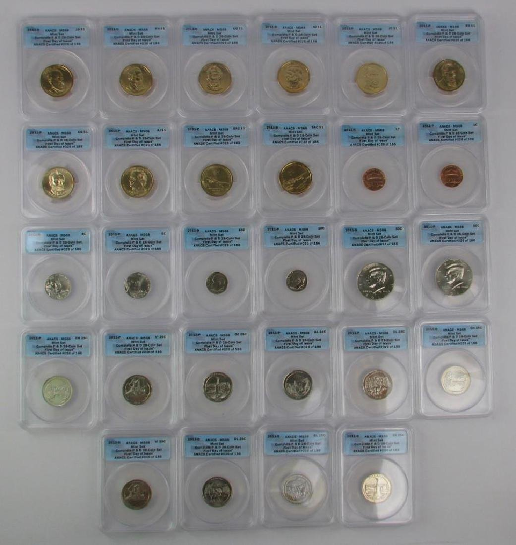 """2011 """"First Day of Issue"""" Mint Set"""