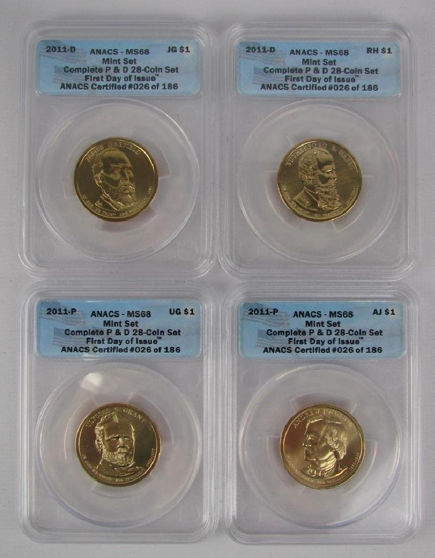 """2011 """"First Day of Issue"""" Mint Set - 2"""