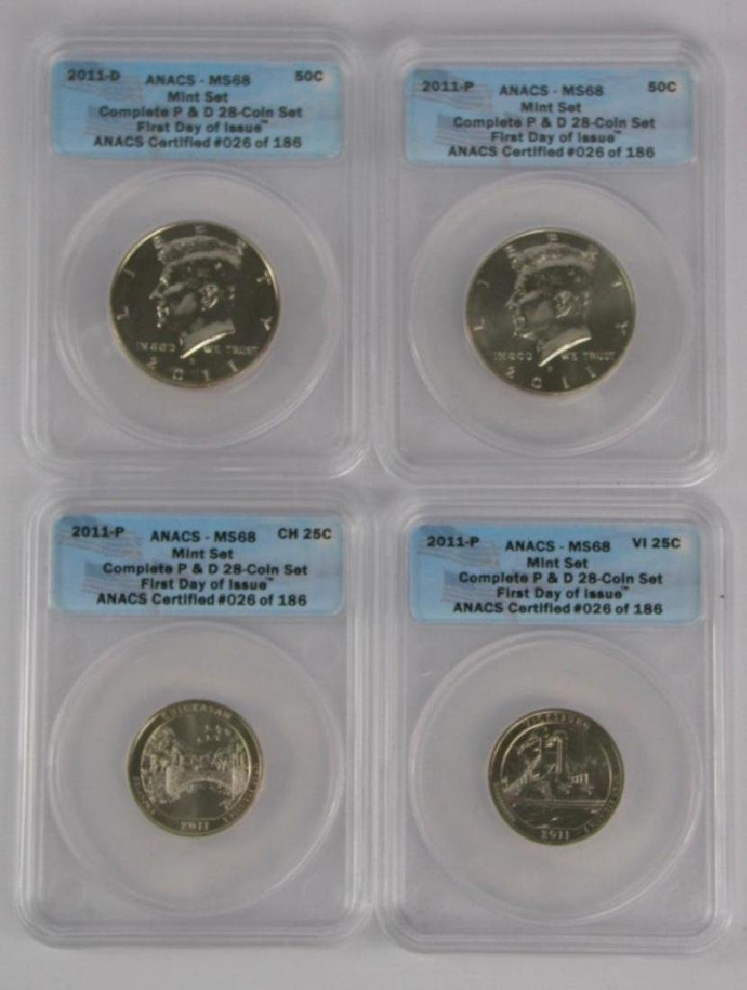 """2011 """"First Day of Issue"""" Mint Set - 6"""