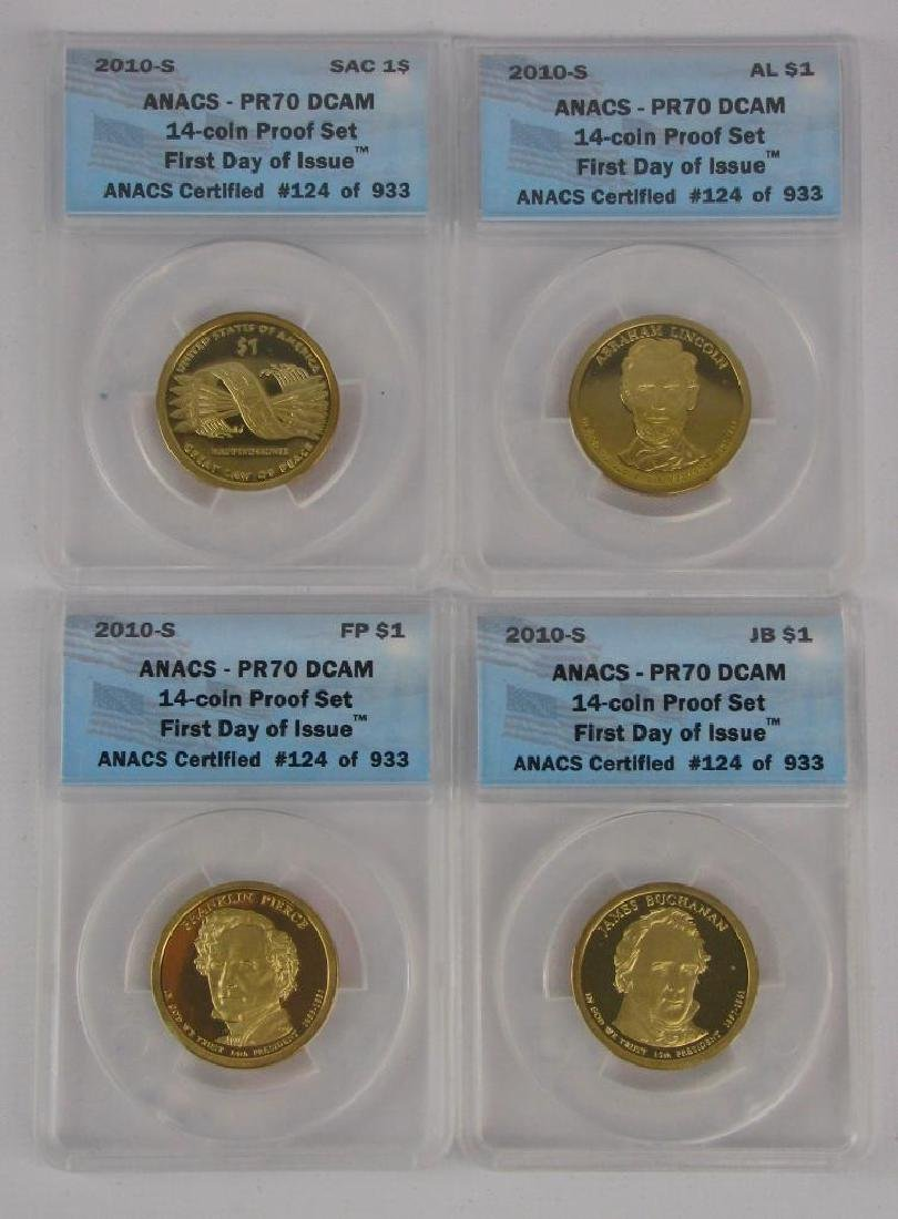 """2010-S """"First Day of Issue"""" Proof Set - 2"""