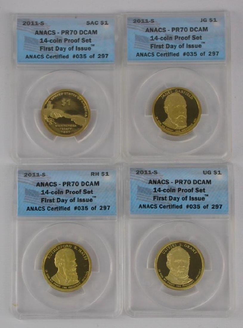 """2011-S """"First Day of Issue"""" Proof Set - 2"""
