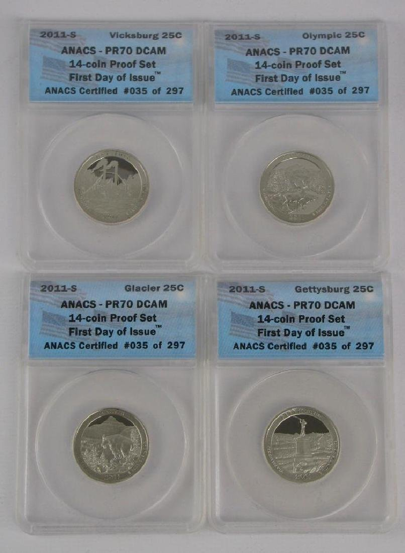 """2011-S """"First Day of Issue"""" Proof Set - 4"""