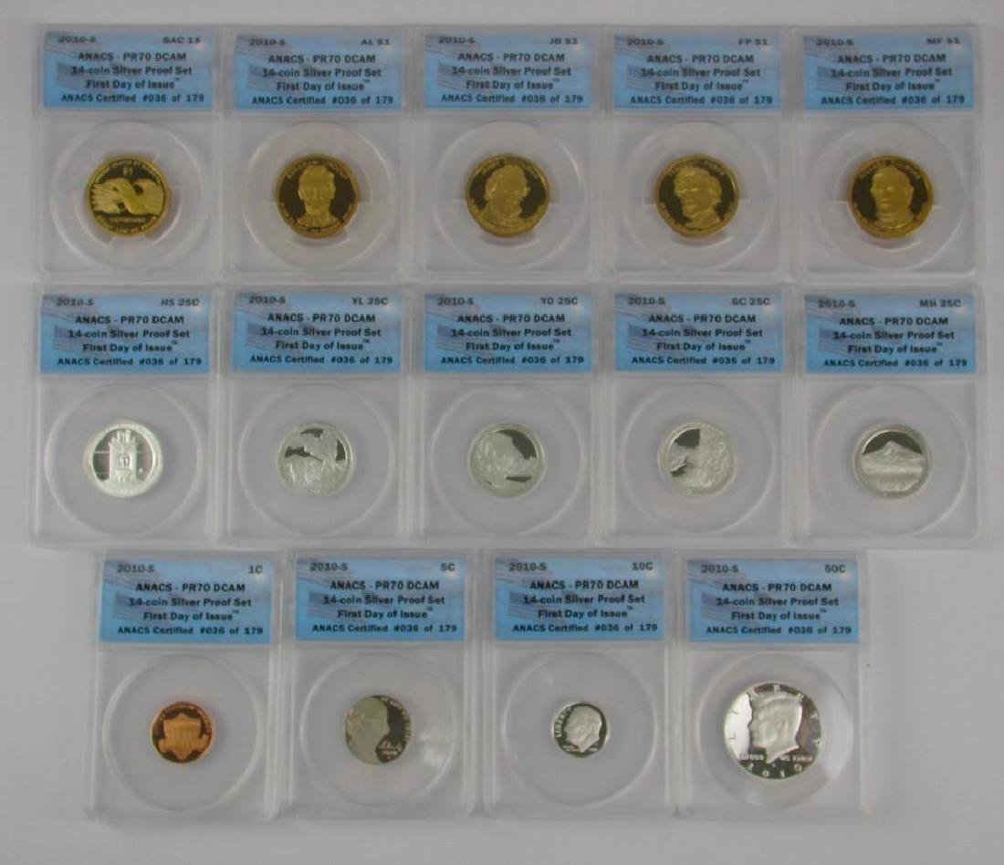"""2010-S """"First Day of Issue"""" Proof Set"""
