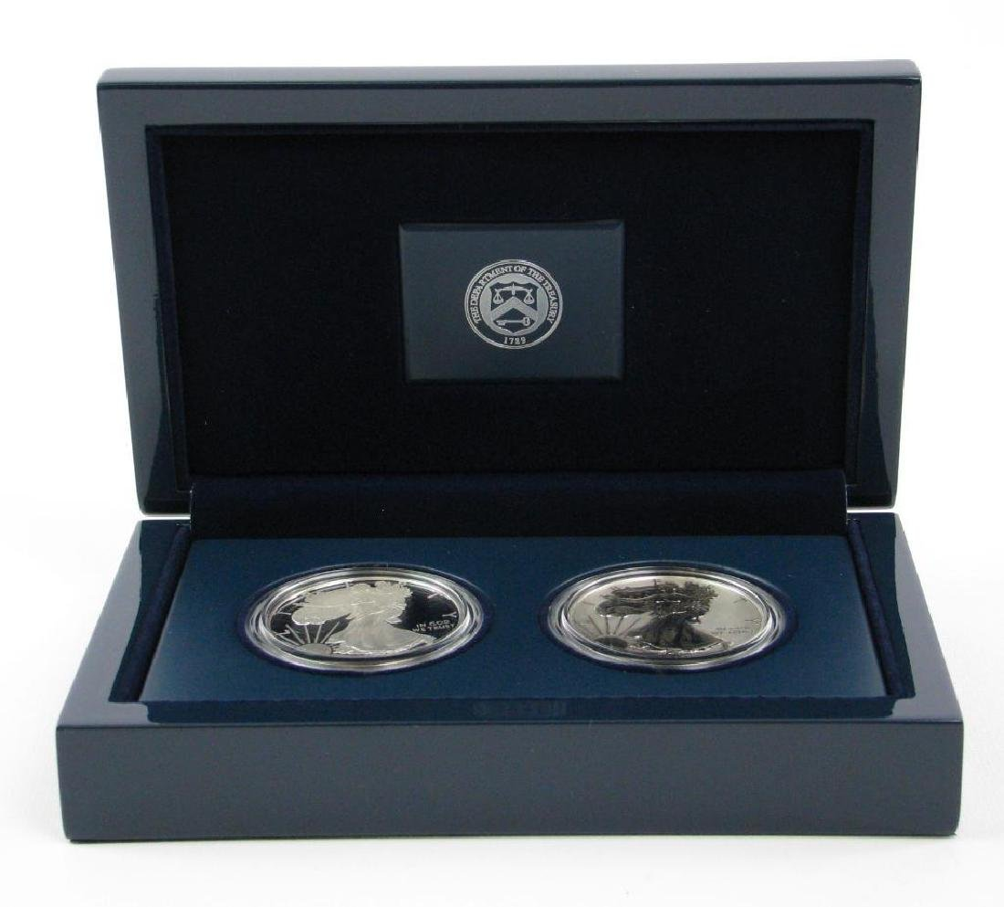 2012-S American Eagle Two-Coin Silver Proof Set - 2