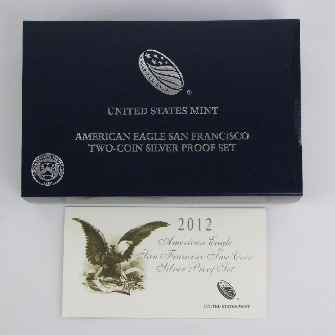 2012-S American Eagle Two-Coin Silver Proof Set - 3