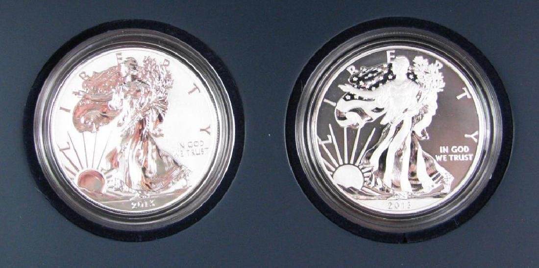 2013-W American Eagle Two-Coin Set - 2