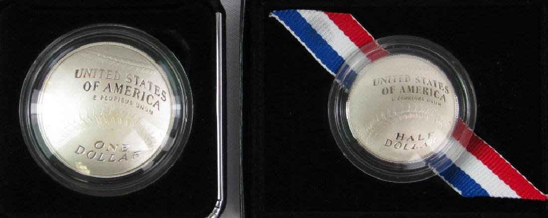 Lot of 2 : 2014 Baseball Hall of Fame Commemoratives - 2