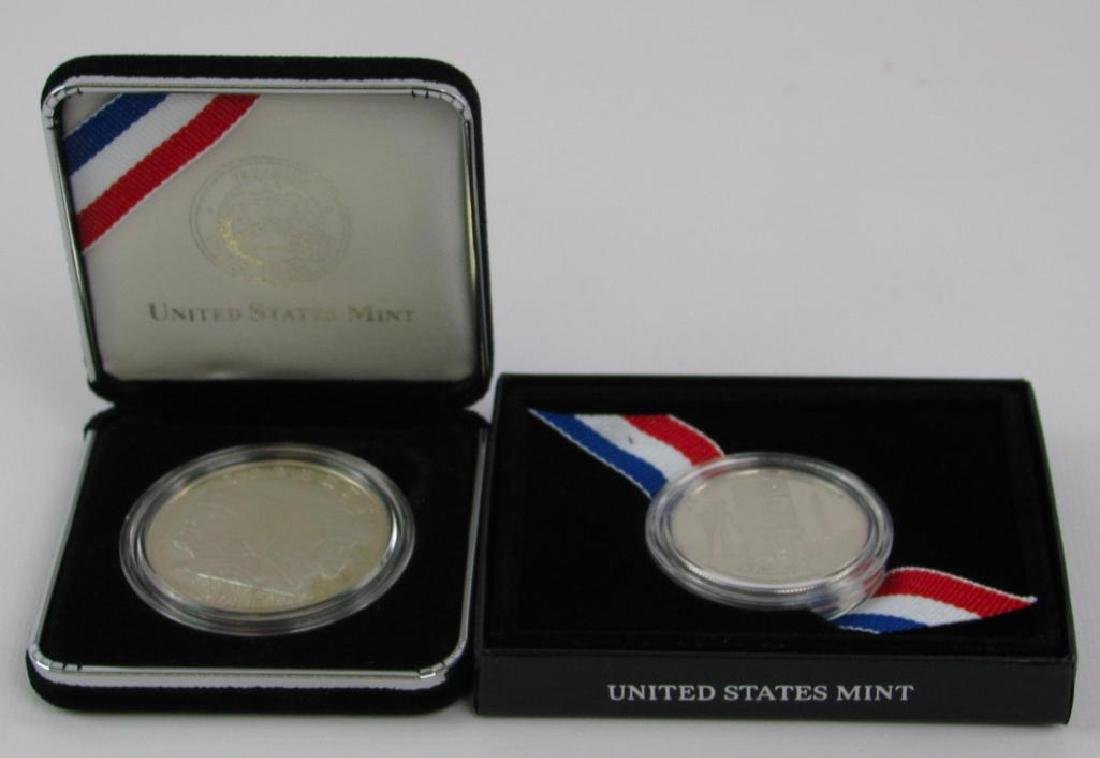 Lot of 2 : U.S. Army Commemorative Proof Coins - Silver