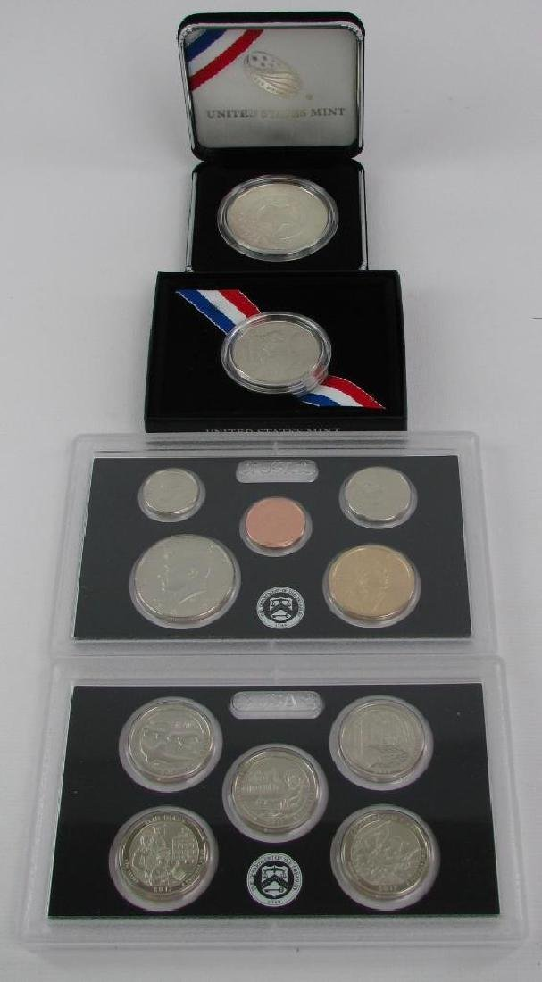 Lot of 3 : 225th Marshal's Commemorative Coins +