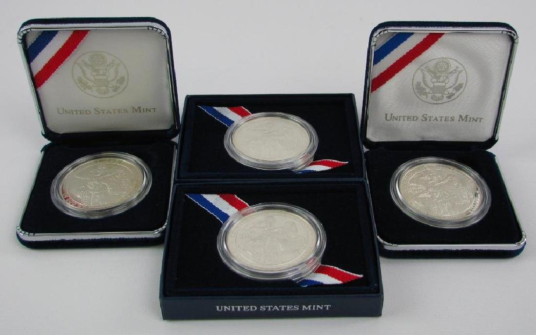 Lot of 4 : 2010-P Boy Scouts of America Centennial