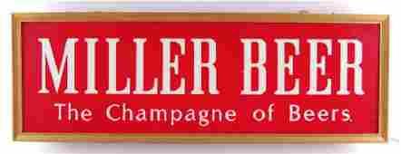 Vintage Miller High Life Light Up Advertising Beer Sign