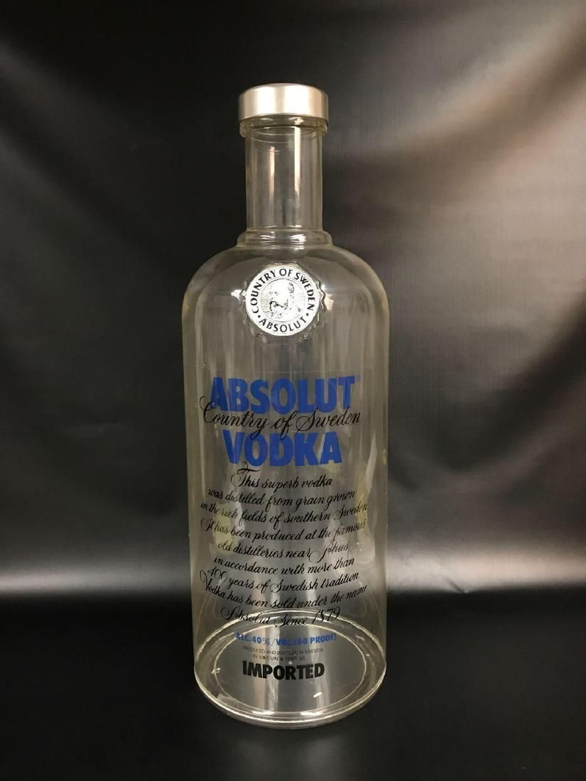 Absolute Vodka Oversized Advertising Bottle