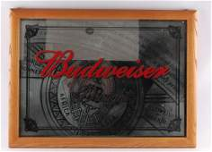Budweiser Advertising Beer Mirror