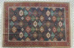 Antique Hand Knotted Turkish Oriental Rug