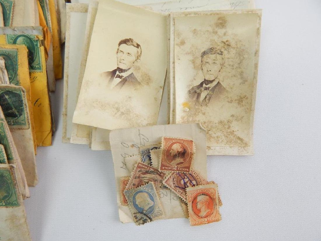 Large Group of 19th Century Letters and Stamps - 2