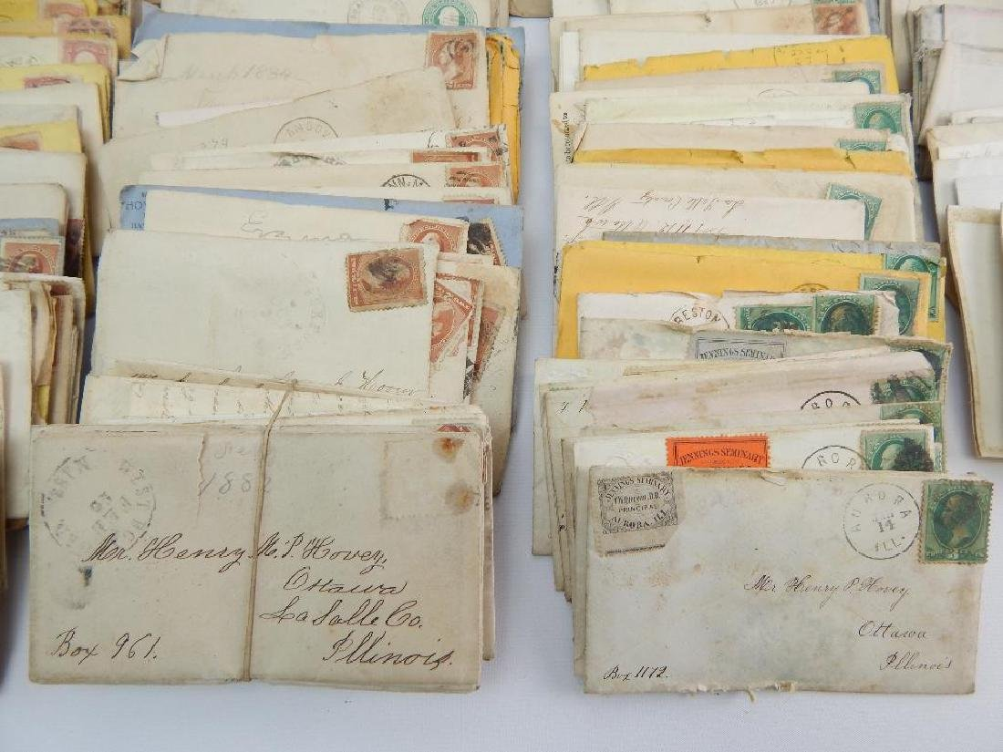 Large Group of 19th Century Letters and Stamps - 3
