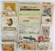 Large Group of Victorian Trade Cards
