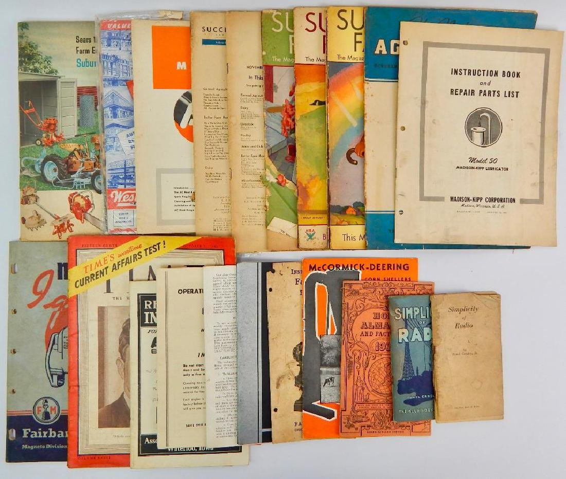Group of 21 Catalogs & Magazines