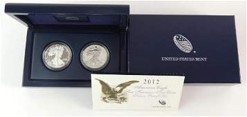 US Mint American Eagle San Francisco 2 Coin Silver
