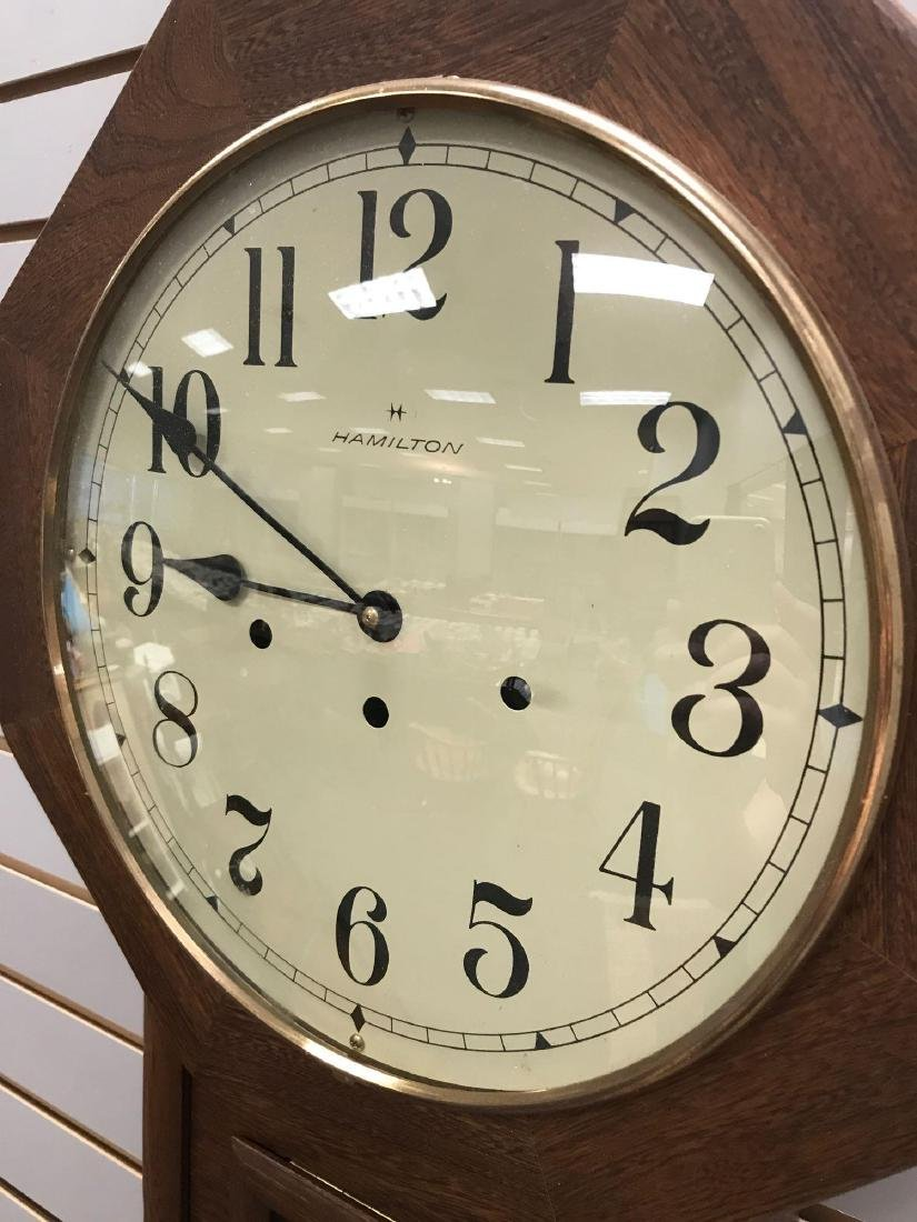 Hamilton Hanging Wall Clock w/Westminster Chimes - 2
