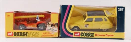 Group of 2 Corgi Toy Vehicles in Original Packaging