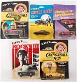 Group of 5 ERTL Toy Vehicles in Original Packaging