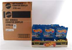 Group of 24 Hot Wheels 37959928 Store Display with the
