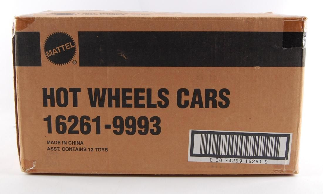 1996 Full Case of 12 Hot Wheels Christmas Ornaments in