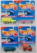 Set of 4 Hot Wheels Real Riders Series Die-Cast