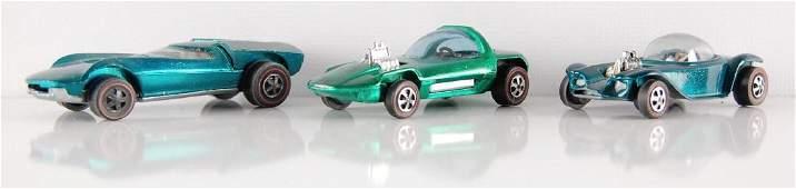 Group of 3 Hot Wheels Reline Die-Cast Cars
