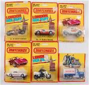 Group of 6 Matchbox Die-Cast Vehicles in Original