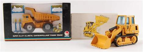Group of 2 NZG and Shinsei Die-Cast Construction
