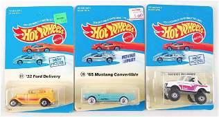 Group of 3 Hot Wheels Die-Cast Cars in Experimental