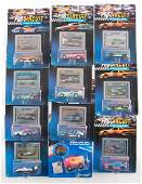 Group of 11 Hot Wheels Pro Circuit DieCast Racing Cars