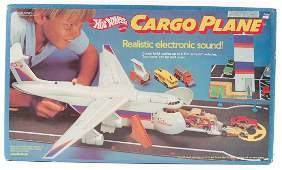 Hot Wheels Cargo Plane with Realistic Electronic Sound