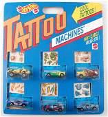 Hot Wheels Tattoo Machines 6 Car Value Pack in Original